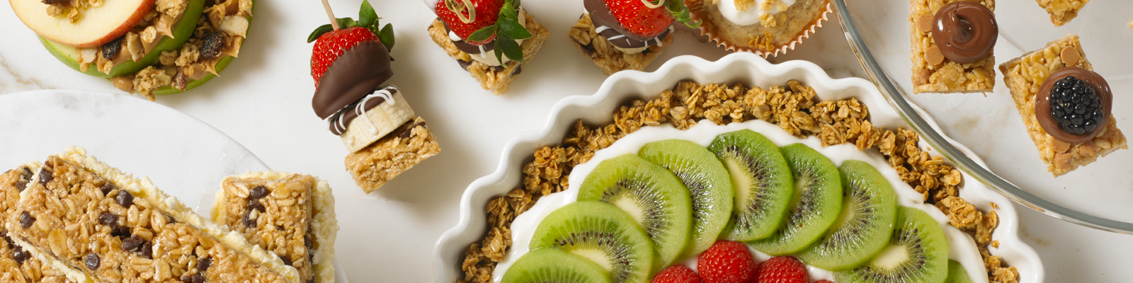 Chewy Granola Bars Header